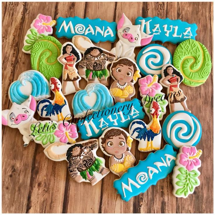 Leti's Confectionery Dreams - Posts Moana cookies