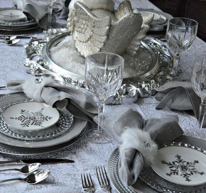 Торжественная сервировка новогоднего стола