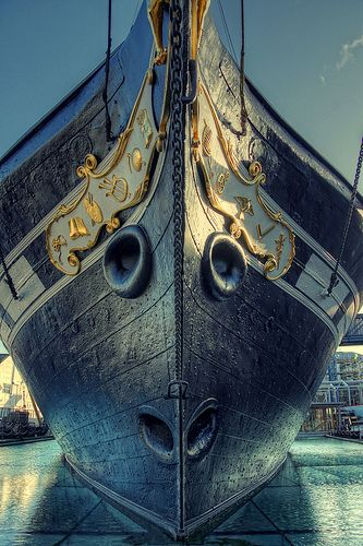 SS Great Britain, An advanced passenger steamship designed by Isambard Kingdom Brunel for the Great Western Steamship Company's transatlantic service between Bristol and New York.  | by The Wolf