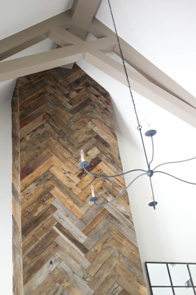 Refresh show house 2015 barnwood fireplace