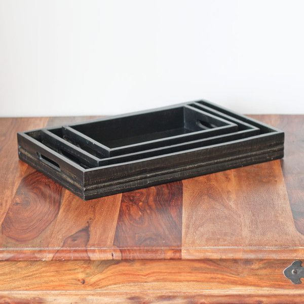 The Importer Black Display Tray -3 Sizes
