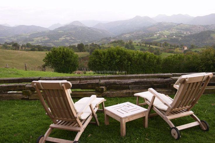 Oviedo Spain - View of the Picos de Europa mountain range  #spain #oviedo #interesting #discover #experience #adventure #asturias #history #church #mountain #museum #travel #traveltherenext