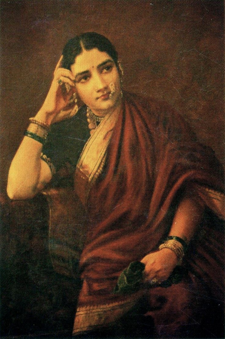 Raja Ravi Varma, Expectation - Sari - Wikipedia, the free encyclopedia
