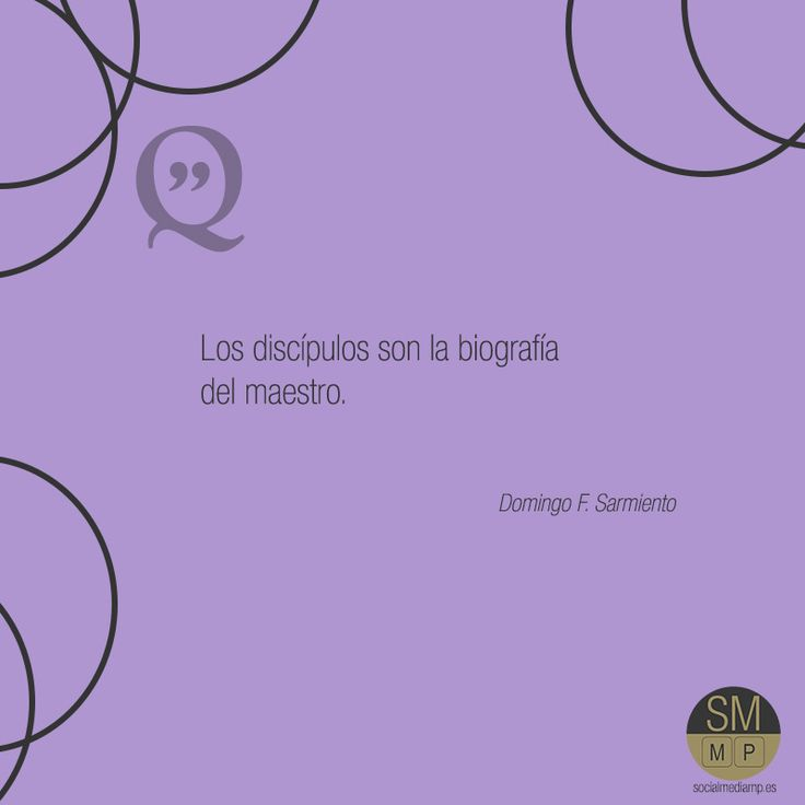 #socialmediamp #citas Domingo F. Sarmiento