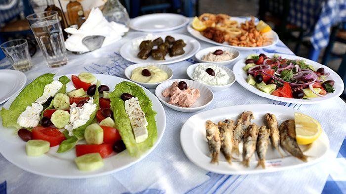 VISIT GREECE Greek Salad & traditional greek dishes by David Hoffmann