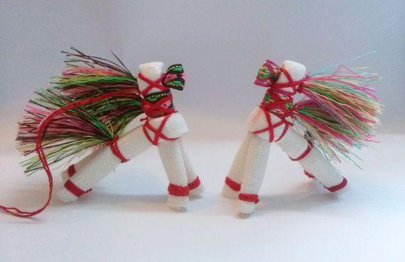 Солнечный Конь традиционная славянская кукла от nativadesign