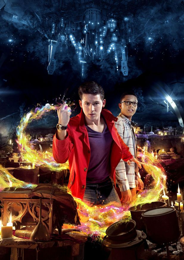 """I know it's not Doctor Who but bear with me. This is a show created by Russell T. Davies. It's available on Netflix and is called """"Wizards vs Aliens"""" it's pretty good and I'm only on the sixth episode!"""