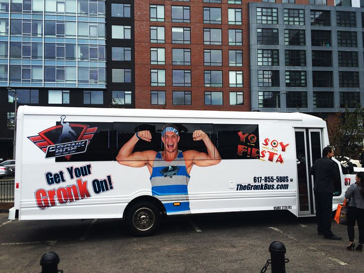 Gronk party bus