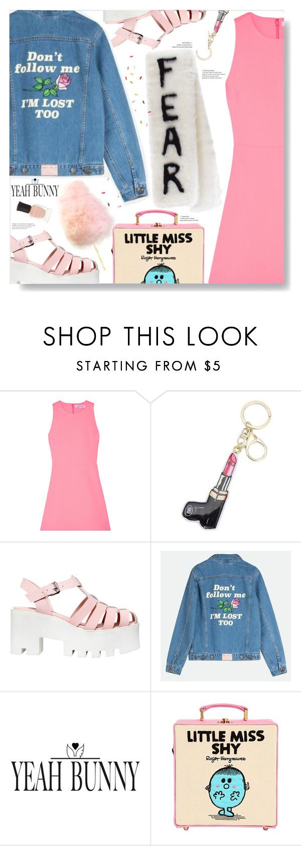 """YEAHBUNNY"" by chocolate-addicted-angel ❤ liked on Polyvore featuring Elizabeth and James, Windsor Smith, Yeah Bunny, Olympia Le-Tan, VFiles and Deborah Lippmann"