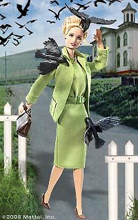 Alfred Hitchcock's The Birds 2008 Barbie Doll