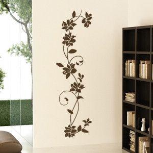 Floral virágos falmatrica faltetoválás gyerekszoba dekoráció motivációs