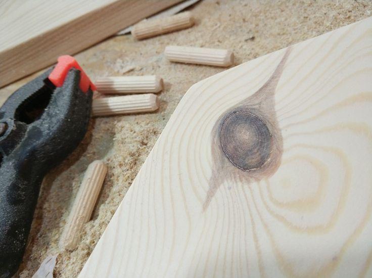 Polished pine wood  workshop,  nature,  wood rings