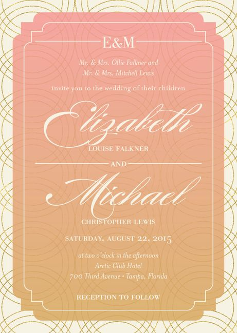 128 Best Wedding Invitations Images On Pinterest