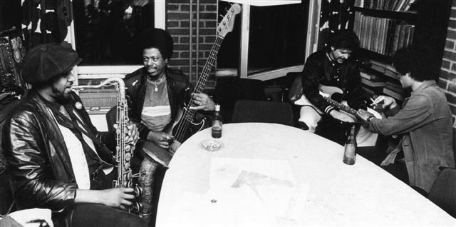 Jimmie Smith, 1983 European Tour with Detroit Gary Wiggins, Lefty DIZZ, Chris Rannenberg and Nick Charles