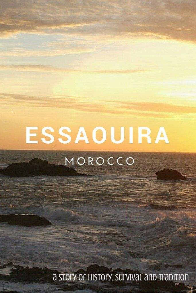 Essaouira, Morocco - No Moroccan city holds more stories, or ties to fishing than Essaouira.