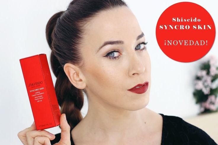 ¡Muy buenas! Ya tenemos la nueva base de maquillaje de Shiseido Syncro Skin una base inteligente. Si queréis saber un poquito más de ella tenéis la reseña en videos de @alipopof y además podéis beneficiaros de un 5% de descuento en los productos de nuestra tienda online con su código alipopof.