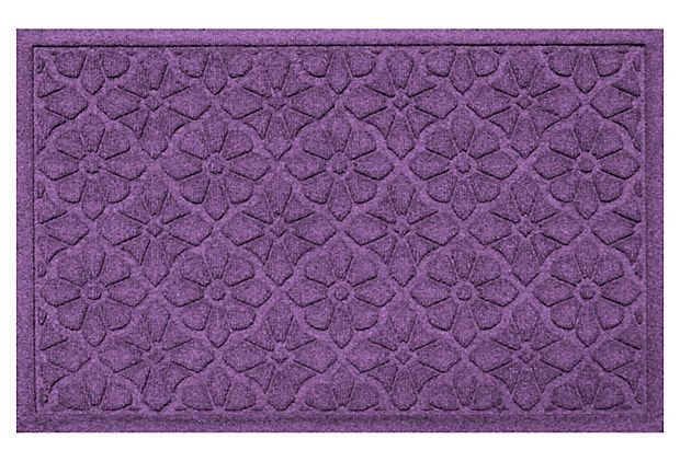 "1'11"" x 3' Medallion Mat, Purple on OneKingsLane.com"