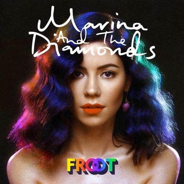 An art called: Marina and the Diamonds - FROOT #anartcalled #review #album #marinaandthediamonds #davidkosten #froot #electronic