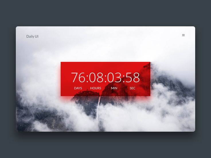 Timer UI Inspiration — Muzli -Design Inspiration — Medium