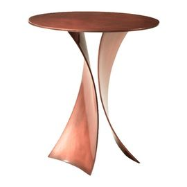 Henry Royer 510 Side Table From M Geough  Contemporary, Metal, Side Table by Boston Design Center Bdc