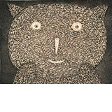 Bear Cat by Dean Bowen Available from www.cascadeprintrintroom.com.au. We ship worldwide. Laybys and gift vouchers available