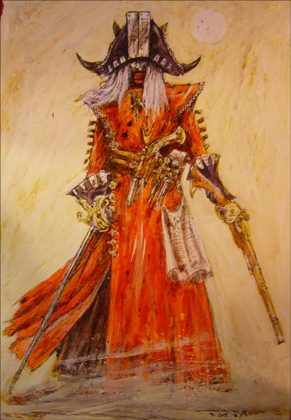 Dreadfleet Pirate, par John Blanche, in Dreadfleet, par Games Workshop