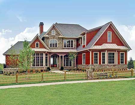 Big country house floor plans house design plans for Big houses in the country