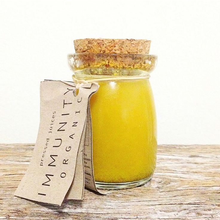 Organic I M M U N I T Y Elixir // Orange • Lemon • Ginger • Turmeric • Kakadu Plum • Black Pepper