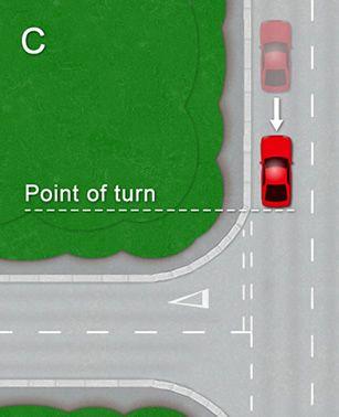 Left corner reverse diagram