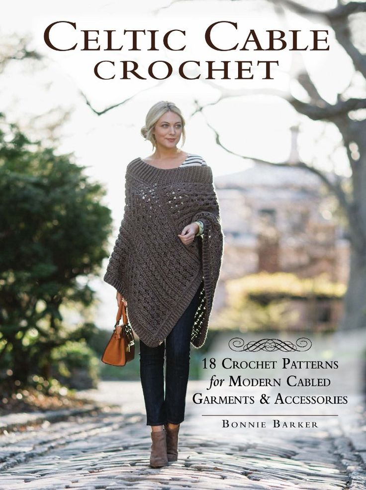 The possibilities of crochet cables are endless! In this stunning collection, Bonnie Barker debuts 18 gorgeous new designs for today's crafter.