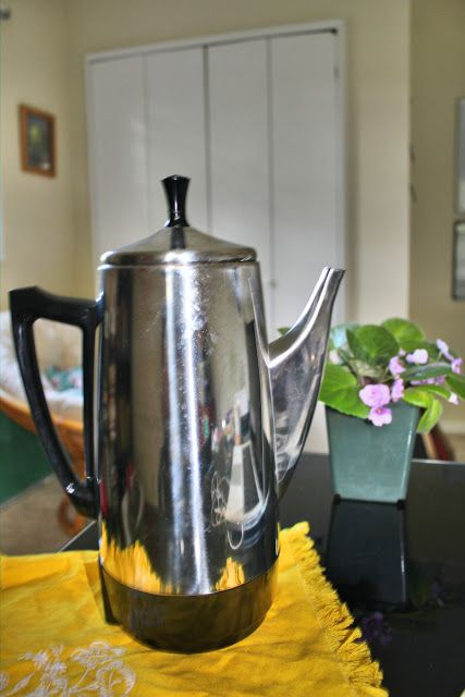 All about percolated coffee...I got one for my last birthday ...best coffee ever..I love it