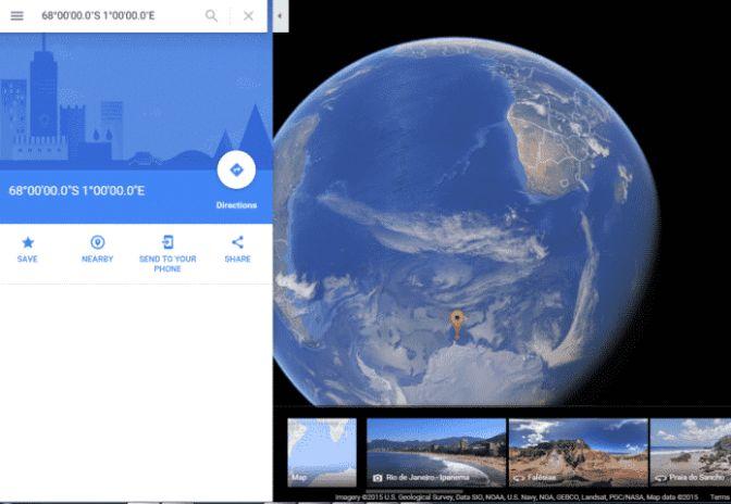 Misteriosa mappa dell'Antartide mostra le coordinate per raggiungere Agharti