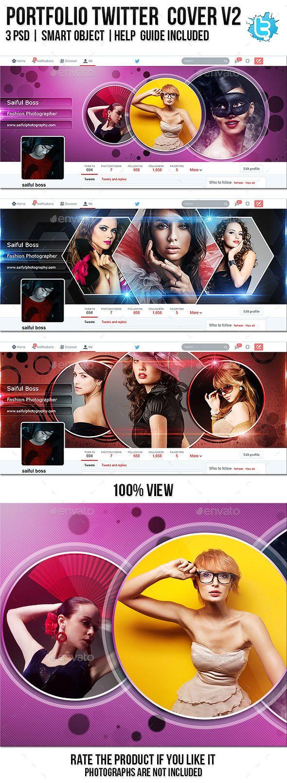 Portfolio Twitter Profile Cover V2