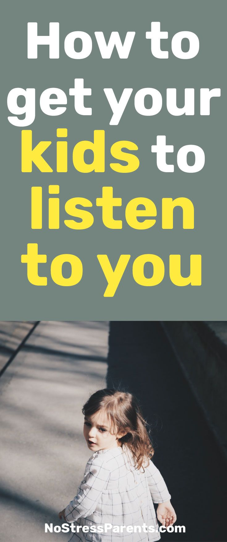 Getting our kids to listen to us can be daunting sometimes but these 6 principles will help you ease the task.