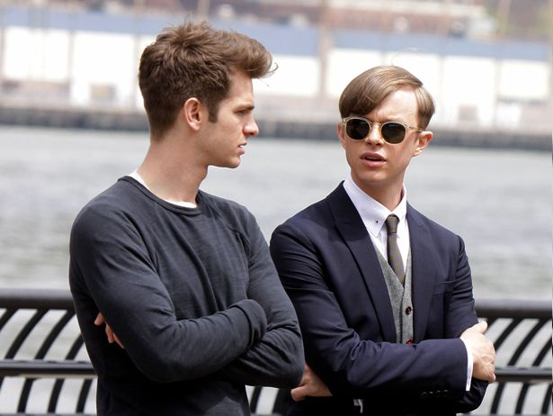Harry Osborn And Peter Parker\'s Bromance Is Blossoming On The Amazing Spider-Man 2 Set