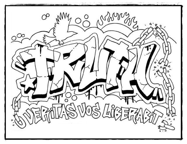 Malvorlagen Graffiti Sprüche Kostenlose Malvorlagen