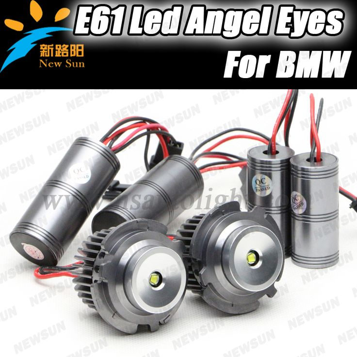 Newest design E61 E60 led marker angel eyes car headlight for BMW 525d 525i 525xd 525xi 530d 530i 530xd 530xi 535d 550i M5