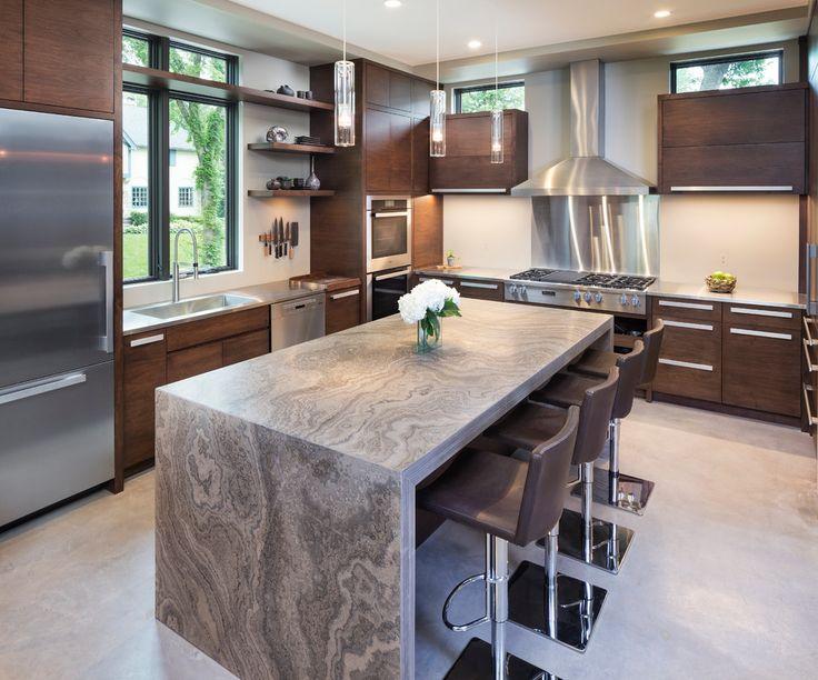 Las 25 mejores ideas sobre encimeras de cocina de granito - Cocinas con encimeras de granito ...