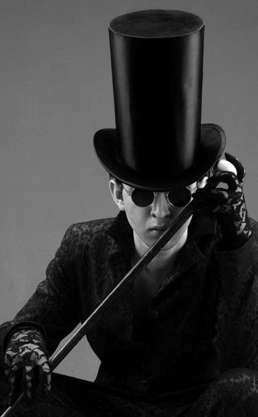 Top Hat ~ Darrell Couture ~ Mens Fashion ~ Dandy