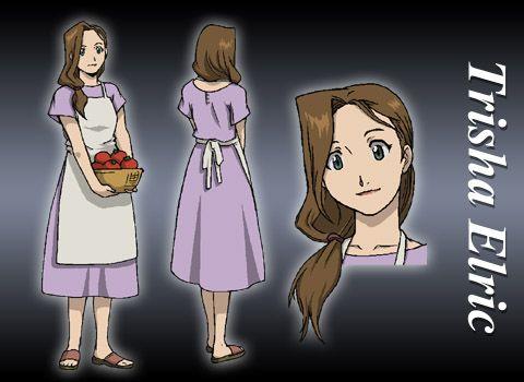Fullmetal Alchemist Trisha Elric