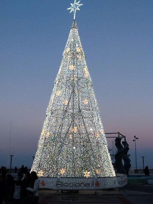 Twitter / Natale a Riccione - Foto di @RomagnaCom
