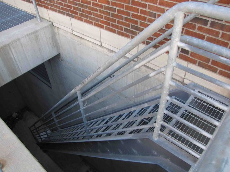 Best Outside Metal Staircase Stair Design Ideas Stairs 640 x 480