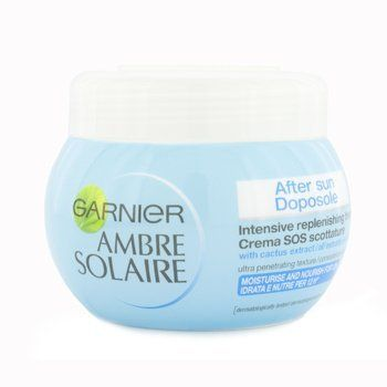 Ambre Solaire After Sun Intensive Replenishing Treatment 300ml/10oz by Garnier. $12.34. This beauty product is 100% original.. An effective intensely replenishing after-sun treatment Enriched with Cactus Extract & nourishing ingredients Helps re-nourish skin that feels dry & over-heated after sun exposure Instantly cools invigorates & relieves skin Leaves skin soft sleek & comfortable