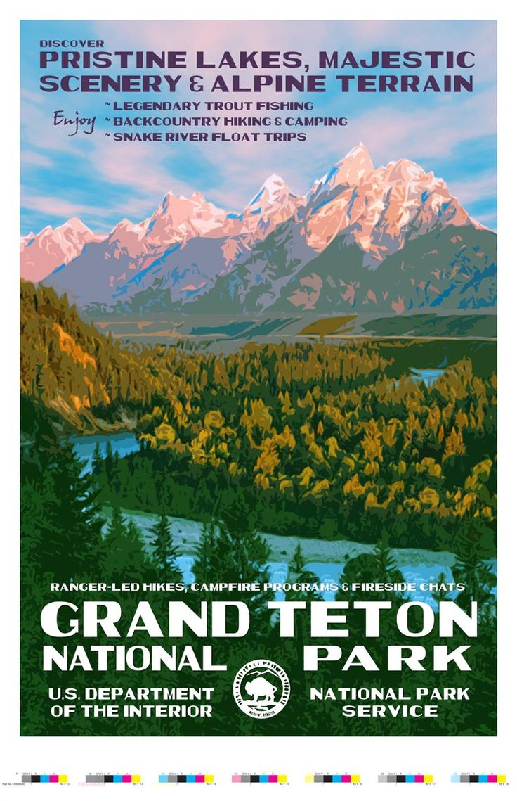 Grand Teton National Park Artist Proof