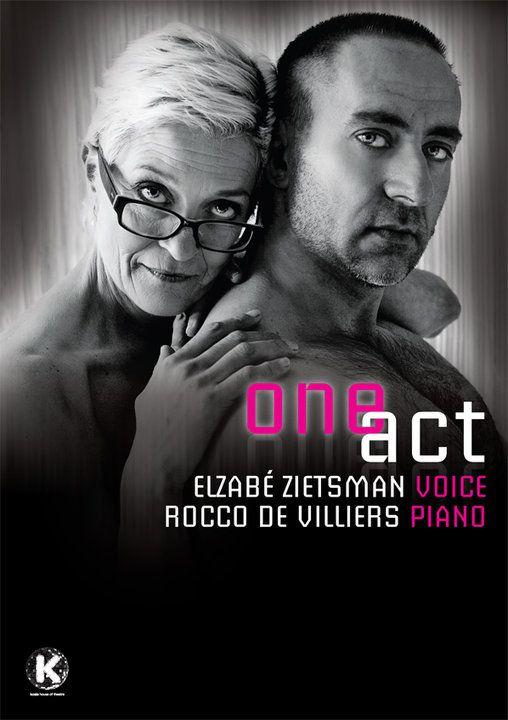 Elzabe Zietsman en Rocco de Villiers in One Act