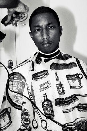 Love the barber's bib. Yay Pharrell.: Pharel Williams, Barbers Bibs, Nerd Williams, Style Icons, Pharrell Style, Barbers Johnny, Magnif Men, Pharrell Williams, Williams Pharrell