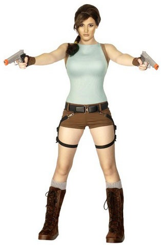 Lara Croft Costume, Tomb Raider Anniversary Fancy Dress | Hollywood and TV costumes | Escapade™ UK
