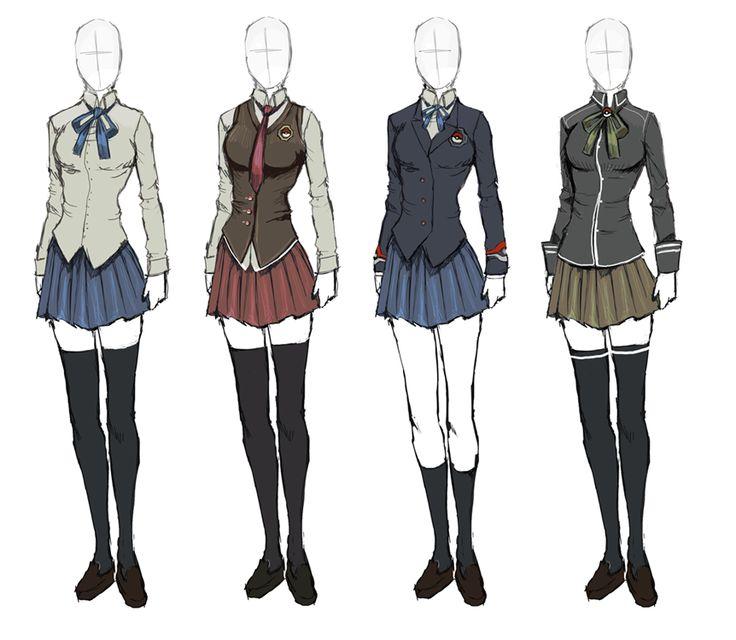 Anime Uniform, Anime Outfits, School