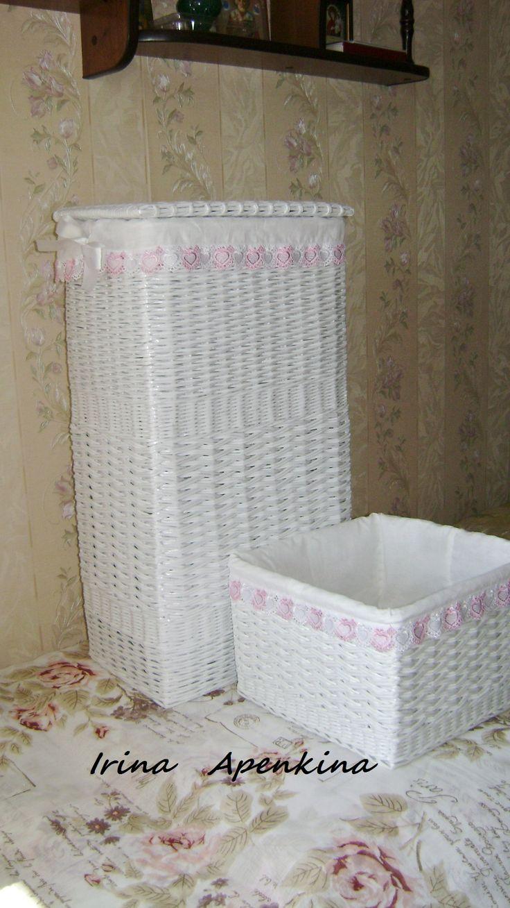 Корзины для ванной комнаты
