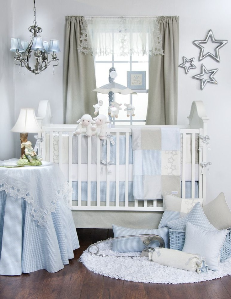 Crib Bedding Baby Boy Rooms: Twinkle Twinkle Little Star Crib Bedding